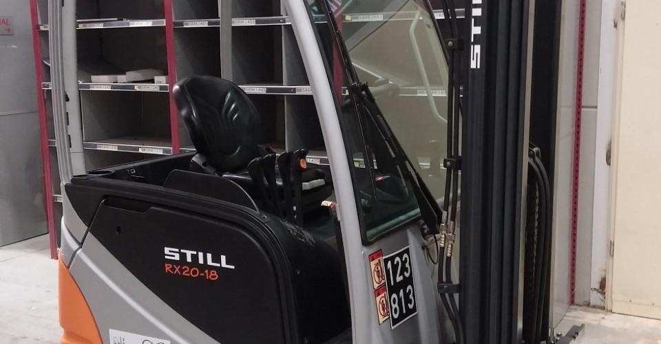 מלגזה חשמלית Still RX20-18 מ-13